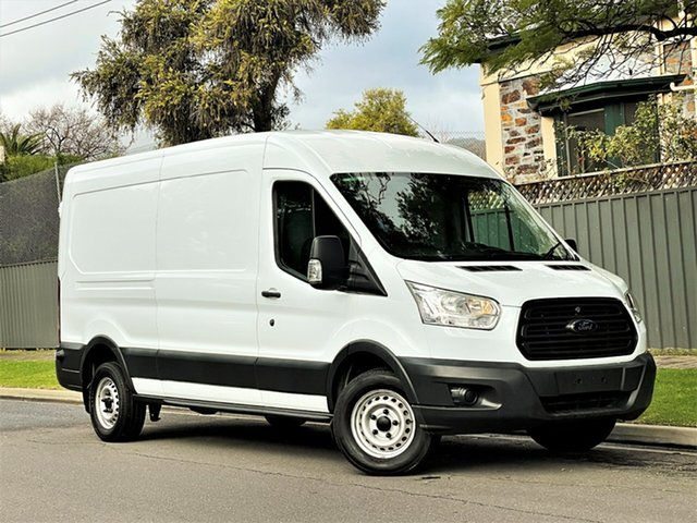 Used Ford Transit VO 350L (Mid Roof) Hyde Park, 2014 Ford Transit VO 350L (Mid Roof) White 6 Speed Manual Van