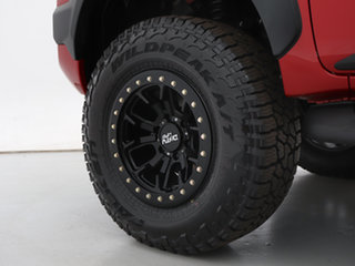 2020 Toyota Hilux GUN126R MY19 Upgrade Rogue (4x4) Red 6 Speed Automatic Double Cab Pick Up