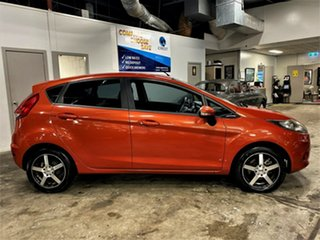 2011 Ford Fiesta WT CL PwrShift Metallic Orange 6 Speed Sports Automatic Dual Clutch Hatchback.