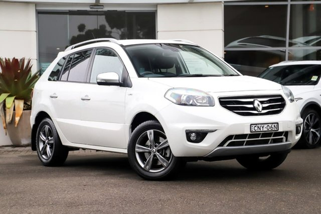 Used Renault Koleos H45 Phase II Dynamique Sutherland, 2012 Renault Koleos H45 Phase II Dynamique White 1 Speed Constant Variable Wagon