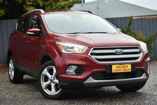 2017 Ford Escape ZG Trend Red 6 Speed Sports Automatic Dual Clutch SUV.