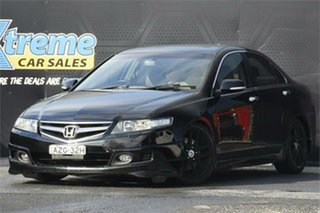 2006 Honda Accord Euro CL MY2006 Luxury Black 6 Speed Manual Sedan.