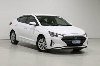 2019 Hyundai Elantra AD.2 MY19 Go White 6 Speed Automatic Sedan.