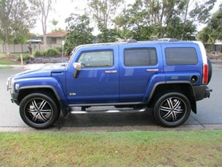 2008 Hummer H3 Luxury Blue 4 Speed Automatic Wagon
