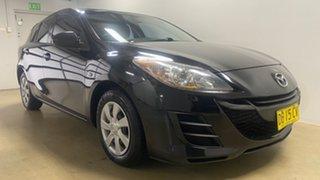 2011 Mazda 3 BL 10 Upgrade Neo Black 5 Speed Automatic Hatchback.