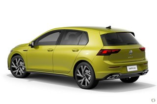 2021 Volkswagen Golf 8 MY21 110TSI R-Line Yellow 8 Speed Sports Automatic Hatchback