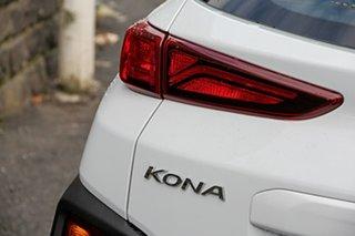 2020 Hyundai Kona OS.3 MY20 Active D-CT AWD White 7 Speed Sports Automatic Dual Clutch Wagon