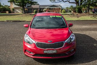 2014 Kia Cerato YD MY14 S Temptation Red 6 Speed Sports Automatic Hatchback.