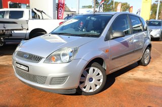 2008 Ford Fiesta WQ LX Silver 4 Speed Automatic Hatchback.
