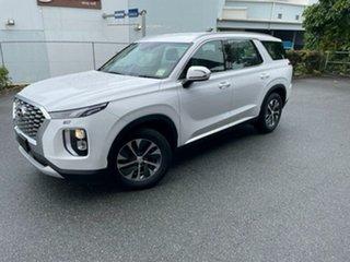2021 Hyundai Palisade LX2.V1 MY21 2WD White Cream 8 Speed Sports Automatic Wagon.