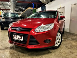 2013 Ford Focus LW MkII Ambiente PwrShift Metallic Red 6 Speed Sports Automatic Dual Clutch.