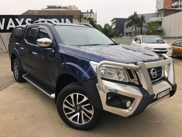 Used Nissan Navara ST-X Goulburn, 2017 Nissan Navara ST-X Blue Manual Dual Cab Utility