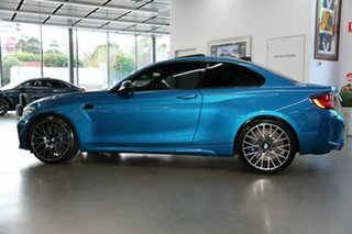 2020 BMW M2 F87 LCI Competition M-DCT Blue 7 Speed Sports Automatic Dual Clutch Coupe