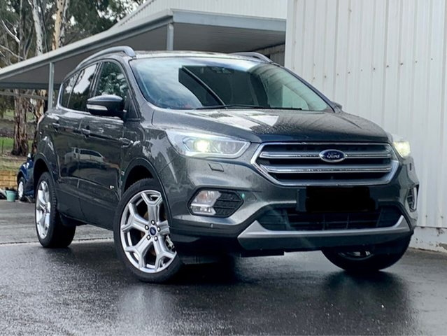 Used Ford Escape ZG 2019.25MY Titanium Clare, 2019 Ford Escape ZG 2019.25MY Titanium Grey 6 Speed Sports Automatic SUV