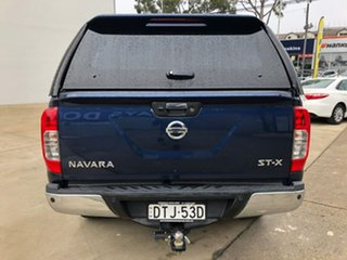 2017 Nissan Navara ST-X Blue Manual Dual Cab Utility