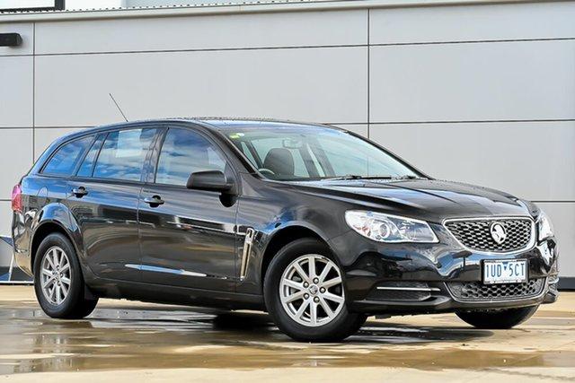 Used Holden Commodore VF II MY16 Evoke Sportwagon Pakenham, 2016 Holden Commodore VF II MY16 Evoke Sportwagon Black 6 Speed Sports Automatic Wagon