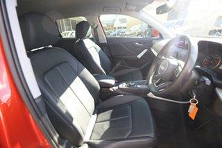 2017 Audi Q2 GA MY18 1.4 TFSI Design Coral Orange Metallic 7 Speed Auto S-Tronic Wagon