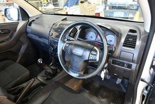2015 Isuzu D-MAX MY15 SX 4x2 Silver 5 Speed Manual Cab Chassis.