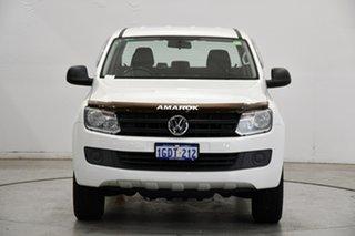 2016 Volkswagen Amarok 2H MY17 TDI400 4MOT Core White 6 Speed Manual Utility.