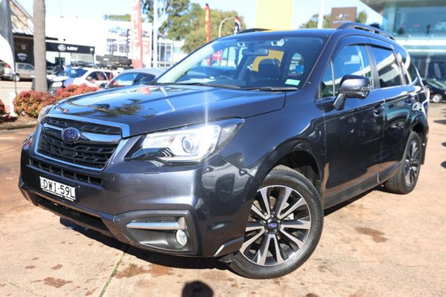 Used Subaru Forester MY18 2.5I-S Brookvale, 2017 Subaru Forester MY18 2.5I-S Grey Continuous Variable Wagon