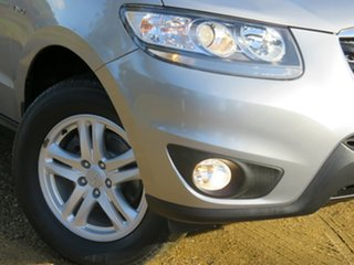 2010 Hyundai Santa Fe CM MY10 SLX Silver 6 Speed Sports Automatic Wagon