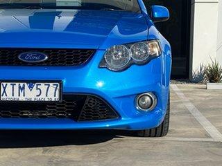 2010 Ford Falcon FG XR6 Ute Super Cab Blue 5 Speed Sports Automatic Utility