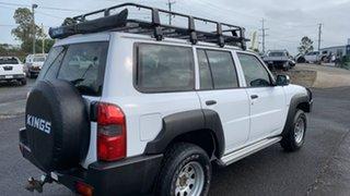 2004 Nissan Patrol GU IV DX (4x4) White 5 Speed Manual Wagon