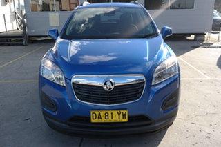 2014 Holden Trax TJ MY15 LS Blue 6 Speed Automatic Wagon.