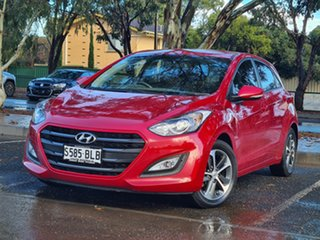 2016 Hyundai i30 GD4 Series II MY17 Active X Red 6 Speed Sports Automatic Hatchback