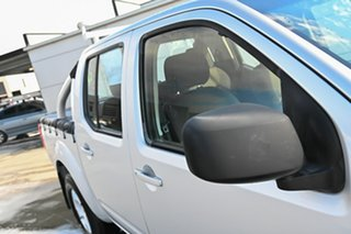 2010 Nissan Navara D40 RX Silver 6 Speed Manual Utility.