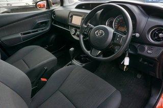 2018 Toyota Yaris NCP130R Ascent Orange 4 Speed Automatic Hatchback