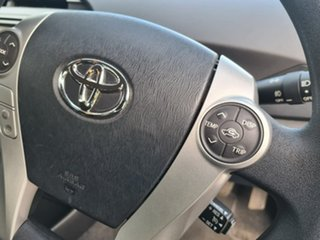 2014 Toyota Prius ZVW30R MY12 Silver 1 Speed Constant Variable Liftback Hybrid