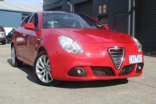 2012 Alfa Romeo Giulietta Distinctive JTD-M Red 6 Speed Auto Dual Clutch Hatchback.