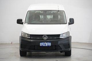 2016 Volkswagen Caddy 2KN MY17 TSI220 Maxi DSG White 7 Speed Sports Automatic Dual Clutch Van.