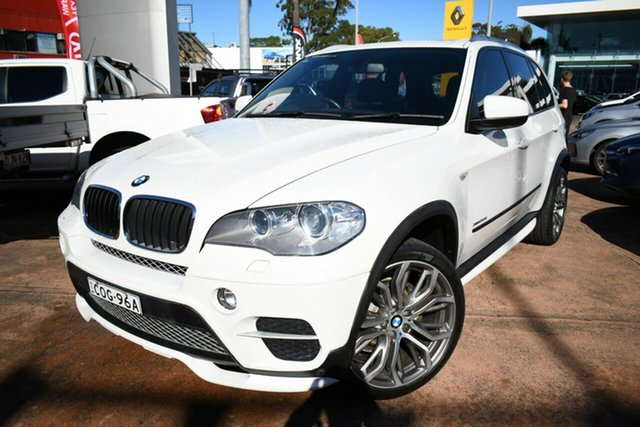 Used BMW X5 E70 MY12 Upgrade xDrive30d Brookvale, 2012 BMW X5 E70 MY12 Upgrade xDrive30d White 8 Speed Automatic Sequential Wagon