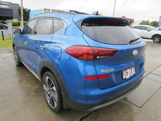 2018 Hyundai Tucson TL3 MY19 Highlander AWD Blue 8 Speed Sports Automatic Wagon