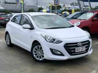 2015 Hyundai i30 GD3 Series II MY16 Active DCT White 7 Speed Sports Automatic Dual Clutch Hatchback.