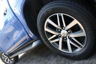 2015 Toyota Hilux GUN126R SR5 Double Cab Nebula Blue 6 Speed Manual Utility
