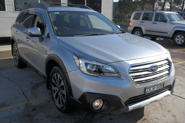 Used Subaru Outback B6A MY16 2.5i CVT AWD Premium Maryville, 2016 Subaru Outback B6A MY16 2.5i CVT AWD Premium Silver 6 Speed Constant Variable Wagon