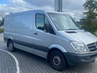 2012 Mercedes-Benz Sprinter NCV3 MY12 313CDI Low Roof MWB 7G-Tronic Silver 7 Speed Sports Automatic.