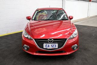 2015 Mazda 3 BM5478 Maxx SKYACTIV-Drive Red 6 Speed Sports Automatic Hatchback.