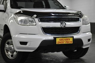 2015 Holden Colorado RG MY15 LS Space Cab White 6 Speed Manual Cab Chassis