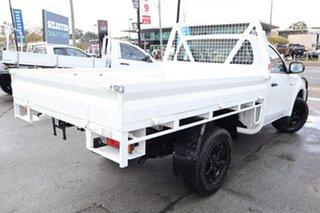 2016 Mitsubishi Triton MQ MY16 GLX White 6 Speed Manual Cab Chassis.