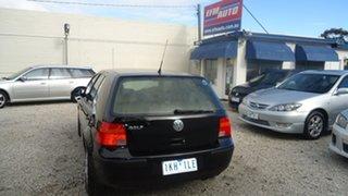 2000 Volkswagen Golf 4th Gen GL Black 4 Speed Automatic Hatchback