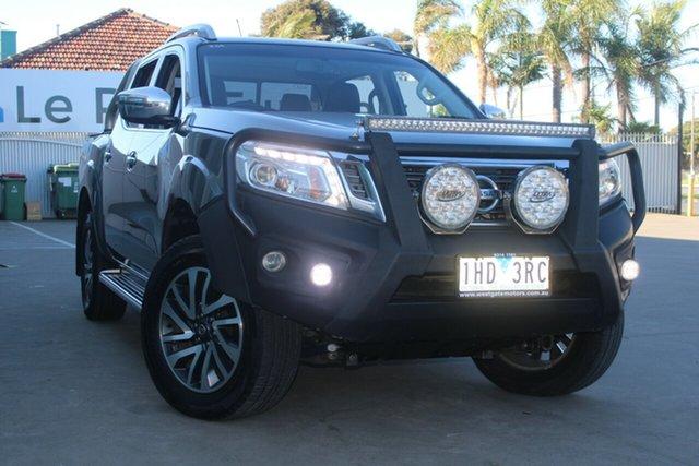 Used Nissan Navara NP300 D23 ST-X (4x4) West Footscray, 2015 Nissan Navara NP300 D23 ST-X (4x4) Grey 7 Speed Automatic Dual Cab Utility