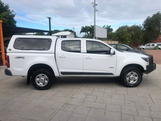 2016 Holden Colorado RG MY17 LS Pickup Crew Cab White 6 Speed Manual Utility