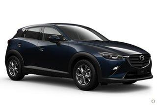 2021 Mazda CX-3 DK2W76 Maxx SKYACTIV-MT FWD Sport Blue 6 Speed Manual Wagon.