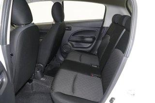 2020 Mitsubishi Mirage LA MY20 ES White 1 Speed Constant Variable Hatchback