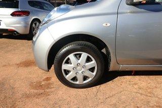 2010 Nissan Micra K12 Silver 4 Speed Automatic Hatchback.
