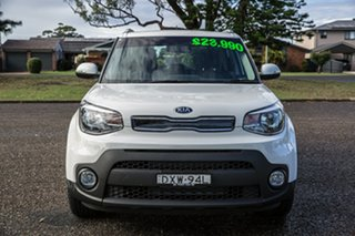 2018 Kia Soul PS MY19 SI Clear White 6 Speed Sports Automatic Hatchback.